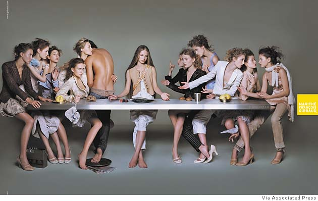 Girbaud Fashion House The Last Supper