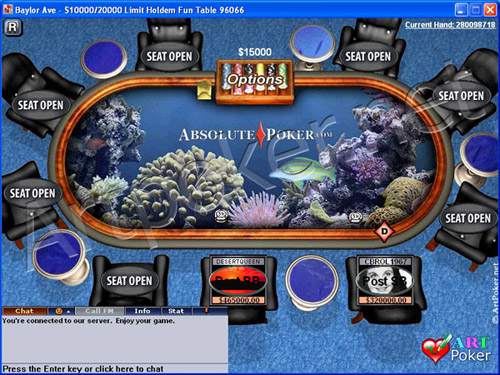 Absolute Poker Themes