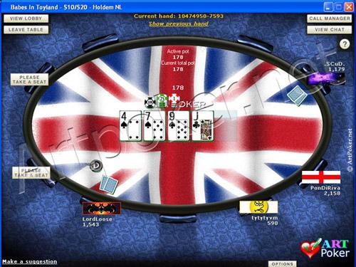 Blue Square Poker Skins