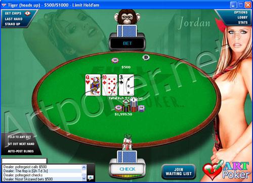 Full Tilt Poker - Jordan Background