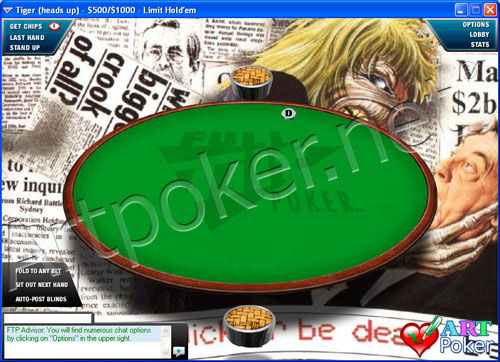 Full Tilt Poker Backgrounds