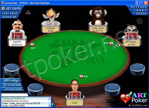 Full Tilt Poker Skin
