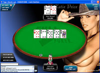 Full Tilt Poker - Play Poker On Katie Price Background