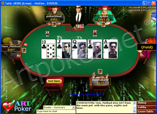 any way to play online poker in us