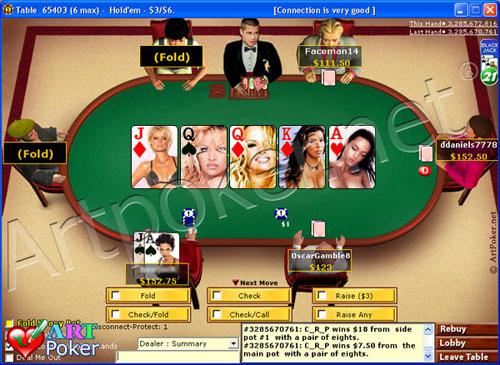 Party Poker Skin - Celebrity and Famous Women - Best Poker Bonus