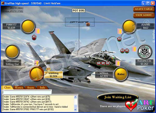 Poker Stars Themes - F-15E Strike Eagle
