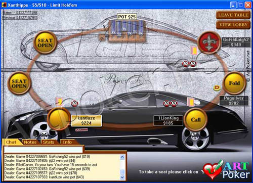 Poker Stars background - Maybach background