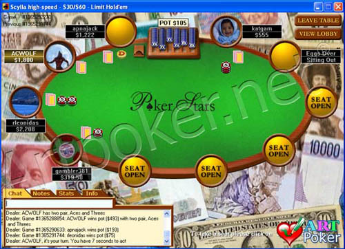 pokerstars play money