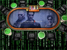 Absolute Poker Themes - Matrix