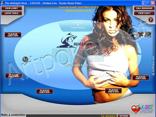 Doyle`s Poker Room Skins - Sexy Babe