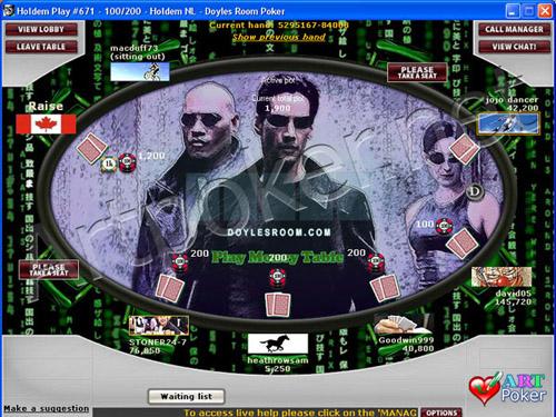 Doyle`s Poker Room Skin