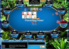 Play Paradise Poker - In the jungle Skin