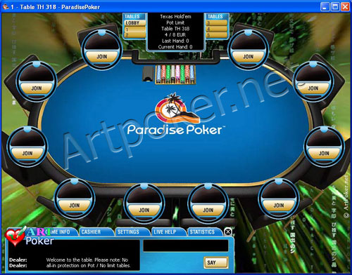 paradise-poker-Matrix