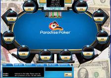 Paradise Poker Skin - Money Background