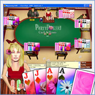 Party Poker  Skins - Flowers