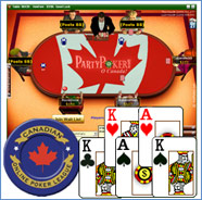 Party Poker  Skins - Canada