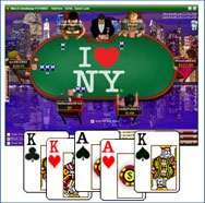 Party Poker  Skins - New York