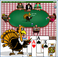 Party Poker  Skins - Thanksgiving Table