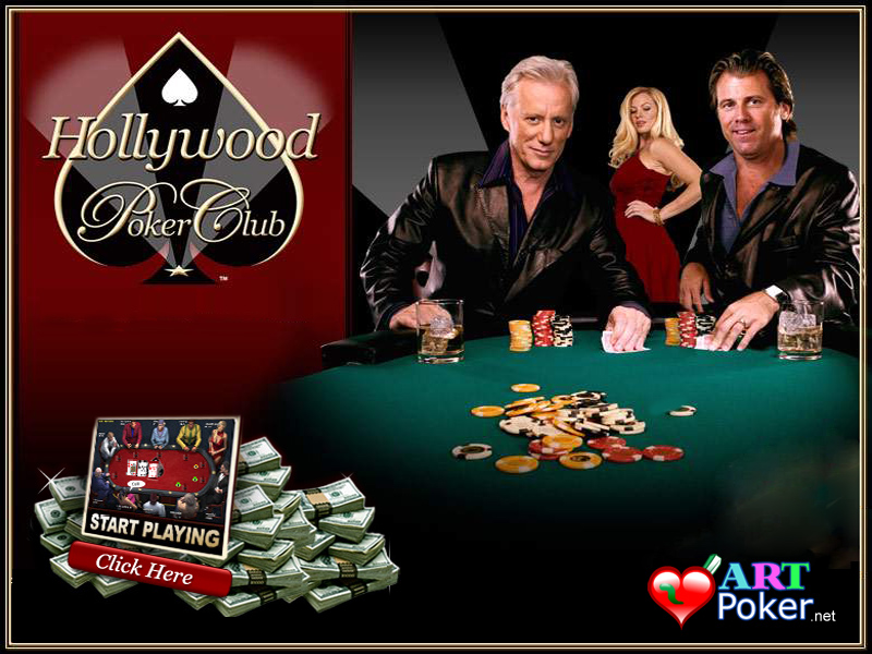 Hollywood Poker Room Wallpaper