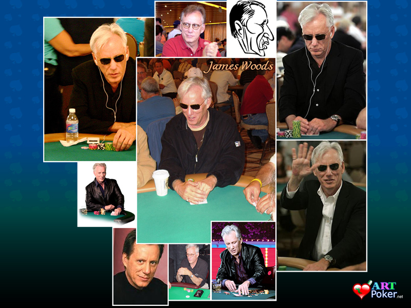 Hollywood Poker - James Woods Wallpaper