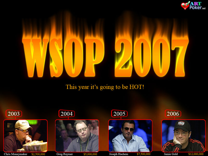 WSOP 2007 Main Event - The Winners