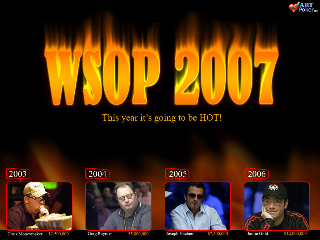 WSOP 2007 Main Event - The Winners 1024x768