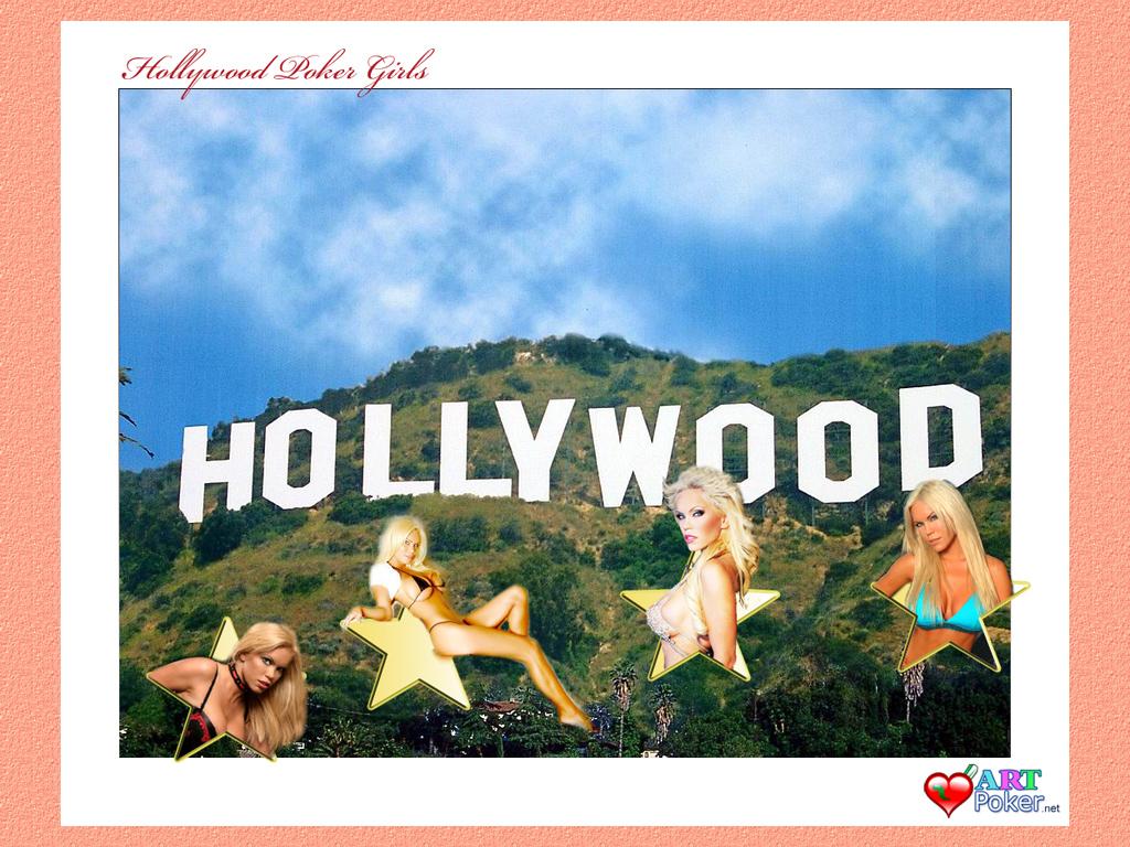 1024x768 Hollywood Poker Wallpaper