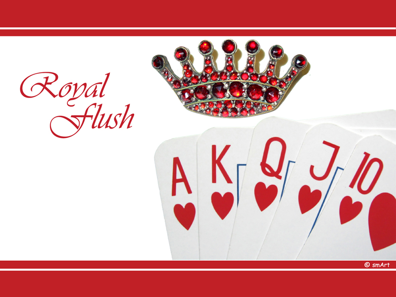 what is a flush in poker//