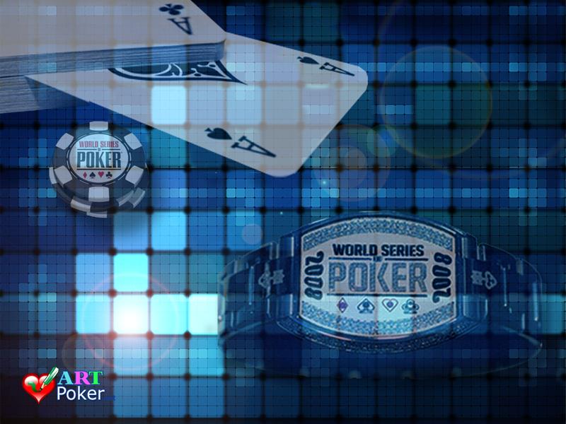 WSOP Bracelet Blue